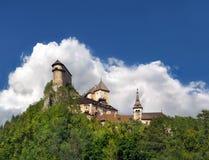 διάσημο orava Σλοβακία κάστρ&omega Στοκ Εικόνες