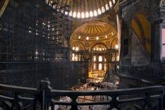διάσημο sophia της Κωνσταντινούπολης hagia Στοκ Εικόνες