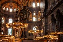 διάσημο sophia της Κωνσταντινούπολης hagia Στοκ φωτογραφίες με δικαίωμα ελεύθερης χρήσης