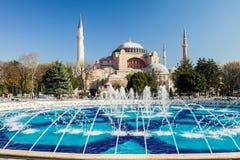 διάσημο sophia της Κωνσταντινούπολης hagia στοκ εικόνα