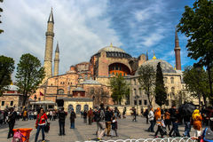 διάσημο sophia της Κωνσταντινούπολης hagia στοκ φωτογραφίες