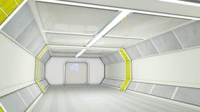 διάδρομος φουτουριστικός Στοκ εικόνα με δικαίωμα ελεύθερης χρήσης