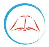 Διαβάστε το σημάδι βιβλίων Στοκ Εικόνες