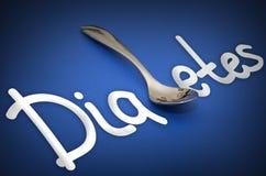 Διαβήτης - μεταφορά κινδύνων για την υγεία Στοκ φωτογραφία με δικαίωμα ελεύθερης χρήσης