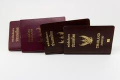 διαβατήριο Ταϊλανδός Στοκ εικόνες με δικαίωμα ελεύθερης χρήσης