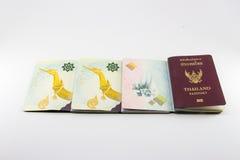 διαβατήριο Ταϊλανδός Στοκ φωτογραφίες με δικαίωμα ελεύθερης χρήσης