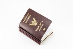 διαβατήριο Ταϊλανδός Στοκ Εικόνα
