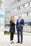Διαβούλευση επιχειρηματιών Στοκ εικόνες με δικαίωμα ελεύθερης χρήσης
