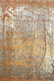 διαβρωμένο μέταλλο Στοκ Φωτογραφία