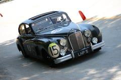 1951 ιαγουάρος MK VII στο Mille Miglia Στοκ Φωτογραφία