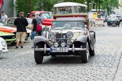 Ιαγουάρος SS-100 ανοικτό αυτοκίνητο Στοκ Φωτογραφίες