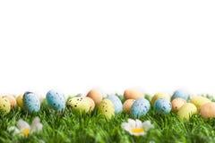 διαθέσιμα ζωηρόχρωμα αυγά Πάσχας που τίθενται διανυσματικά Στοκ Φωτογραφία