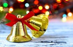 διαθέσιμο διάνυσμα απεικόνισης Χριστουγέννων κουδουνιών Στοκ Φωτογραφία
