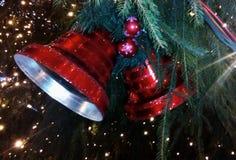 διαθέσιμο διάνυσμα απεικόνισης Χριστουγέννων κουδουνιών Στοκ Φωτογραφίες