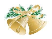 διαθέσιμο διάνυσμα απεικόνισης Χριστουγέννων κουδουνιών ελεύθερη απεικόνιση δικαιώματος