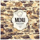 διαθέσιμο διάνυσμα εστιατορίων καταλόγων επιλογής σχεδίου Στοκ Φωτογραφία