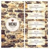 διαθέσιμο διάνυσμα εστιατορίων καταλόγων επιλογής σχεδίου Στοκ Φωτογραφίες