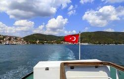διαθέσιμο διάνυσμα της Τουρκίας ύφους γυαλιού σημαιών Στοκ φωτογραφίες με δικαίωμα ελεύθερης χρήσης