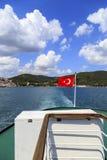 διαθέσιμο διάνυσμα της Τουρκίας ύφους γυαλιού σημαιών Στοκ Εικόνες