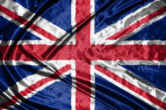 διαθέσιμο διάνυσμα ύφους γυαλιού σημαιών της Αγγλίας σημαία στο υπόβαθρο Στοκ Φωτογραφίες