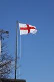διαθέσιμο διάνυσμα ύφους γυαλιού σημαιών της Αγγλίας στοκ εικόνες