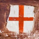 διαθέσιμο διάνυσμα ύφους γυαλιού σημαιών της Αγγλίας Στοκ φωτογραφία με δικαίωμα ελεύθερης χρήσης