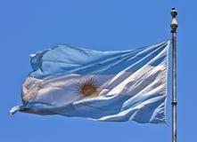 διαθέσιμο διάνυσμα ύφους γυαλιού σημαιών της Αργεντινής Στοκ φωτογραφία με δικαίωμα ελεύθερης χρήσης