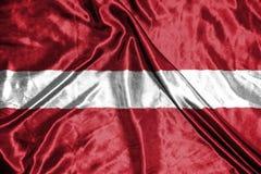 διαθέσιμο διάνυσμα ύφους γυαλιού σημαιών της Αυστρίας σημαία στο υπόβαθρο Στοκ εικόνα με δικαίωμα ελεύθερης χρήσης