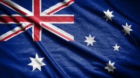 διαθέσιμο διάνυσμα ύφους γυαλιού σημαιών της Αυστραλίας σημαία στο υπόβαθρο Στοκ φωτογραφία με δικαίωμα ελεύθερης χρήσης