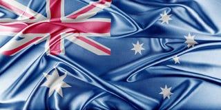 διαθέσιμο διάνυσμα ύφους γυαλιού σημαιών της Αυστραλίας Στοκ φωτογραφίες με δικαίωμα ελεύθερης χρήσης