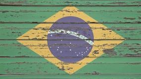 διαθέσιμο διάνυσμα ύφους γυαλιού σημαιών της Βραζιλίας Στοκ φωτογραφίες με δικαίωμα ελεύθερης χρήσης
