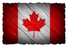 διαθέσιμο διάνυσμα ύφους γυαλιού σημαιών του Καναδά Στοκ εικόνα με δικαίωμα ελεύθερης χρήσης