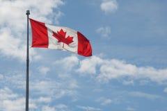 διαθέσιμο διάνυσμα ύφους γυαλιού σημαιών του Καναδά Στοκ Εικόνες