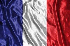 διαθέσιμο διάνυσμα ύφους γυαλιού της Γαλλίας σημαιών σημαία στο υπόβαθρο Στοκ Εικόνες