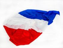 διαθέσιμο διάνυσμα ύφους γυαλιού της Γαλλίας σημαιών Στοκ Φωτογραφία