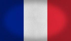 διαθέσιμο διάνυσμα ύφους γυαλιού της Γαλλίας σημαιών Στοκ Φωτογραφίες