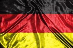 διαθέσιμο διάνυσμα ύφους γυαλιού της Γερμανίας σημαιών σημαία στο υπόβαθρο Στοκ εικόνες με δικαίωμα ελεύθερης χρήσης