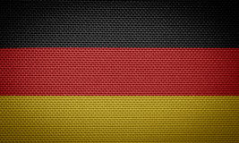 διαθέσιμο διάνυσμα ύφους γυαλιού της Γερμανίας σημαιών Στοκ Εικόνες