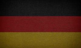 διαθέσιμο διάνυσμα ύφους γυαλιού της Γερμανίας σημαιών Στοκ εικόνα με δικαίωμα ελεύθερης χρήσης