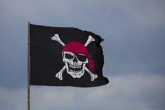 διαθέσιμο διάνυσμα ύφους πειρατών γυαλιού σημαιών Στοκ φωτογραφία με δικαίωμα ελεύθερης χρήσης