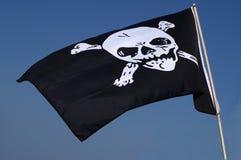 διαθέσιμο διάνυσμα ύφους πειρατών γυαλιού σημαιών Στοκ Φωτογραφίες