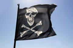 διαθέσιμο διάνυσμα ύφους πειρατών γυαλιού σημαιών Στοκ Εικόνα