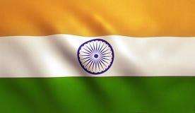 διαθέσιμο διάνυσμα ύφους της Ινδίας γυαλιού σημαιών Στοκ φωτογραφίες με δικαίωμα ελεύθερης χρήσης