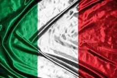 διαθέσιμο διάνυσμα ύφους της Ιταλίας γυαλιού σημαιών σημαία στο υπόβαθρο Στοκ φωτογραφία με δικαίωμα ελεύθερης χρήσης