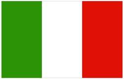 διαθέσιμο διάνυσμα ύφους της Ιταλίας γυαλιού σημαιών Στοκ Εικόνες