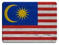 διαθέσιμο διάνυσμα ύφους της Μαλαισίας γυαλιού σημαιών Στοκ Φωτογραφία