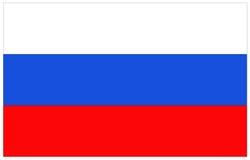 διαθέσιμο διάνυσμα ύφους της Ρωσίας γυαλιού σημαιών Στοκ φωτογραφία με δικαίωμα ελεύθερης χρήσης