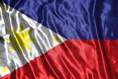 διαθέσιμο διάνυσμα ύφους των Φιλιππινών γυαλιού σημαιών σημαία στο υπόβαθρο Στοκ φωτογραφία με δικαίωμα ελεύθερης χρήσης