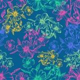 διαθέσιμο όμορφο eps floral πρότυπο μορφής άνευ ραφής στοκ εικόνα με δικαίωμα ελεύθερης χρήσης