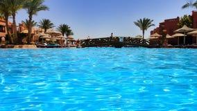 Διακοπές στο αιγυπτιακό ξενοδοχείο Στοκ εικόνα με δικαίωμα ελεύθερης χρήσης
